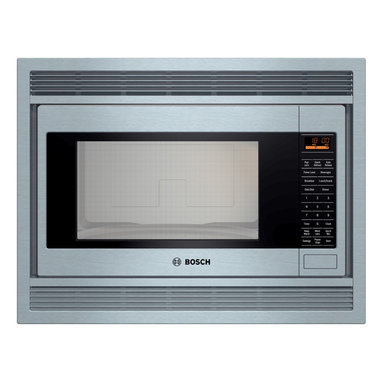 Bosch 500 Series Built-in Microwave Stainless Steel | HMB5050 - INVERTER MICROWAVE TECHNOLOGY