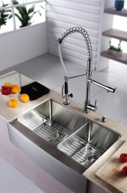 Modern Kitchen Sinks by ExpressDecor