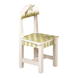 Teamson Design - Teamson Kids Alphabet Hand Painted Animals Kids Chair (Set of 2) - Teamson Design - Kids Chairs - W1375A. This is a set (2) of the Alphabet chair collection. Hand painted with lovely animals and great designs. This set goes great with the Alphabet Children's Table. Please Note: This product is ONLY the set of 2 chairs and does NOT include the table.