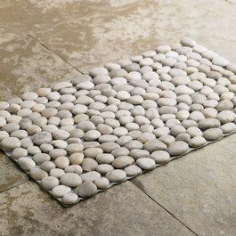 Bath mats find shower mats and bath rugs online for River stone bath mat