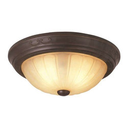 Trans Globe Lighting - Trans Globe Lighting 21050 ROB Flushmount In Rubbed Oil Bronze - Part Number: 21050 ROB