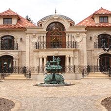 Mediterranean Exterior by Architectural Stone LLC