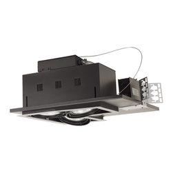 Jesco Lighting - Jesco MGP30-3LWB 3-Light Double Gimbal Linear Recessed Line Voltage Fixture - Jesco MGP30-3LWB 3-Light Double Gimbal Linear Recessed Line Voltage Fixture
