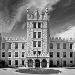 Northern Illinois University Altgeld Hall 20x15: Metal Print - University Icons - Original photographic prints of iconic collegiate buildings, campus landscapes and architectural details delivered in about 3 days.