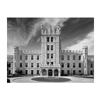 Northern Illinois University Altgeld Hall 10x7.5: Metal Print - University Icons - Original photographic prints of iconic collegiate buildings, campus landscapes and architectural details delivered in about 3 days.