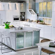 Modern Kitchen White Clean Kitchen