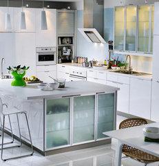 modern kitchen White Clean Kitchen