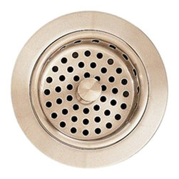 American Standard - American Standard 4331.013.295 Adjustable Sink Strainer Drain, Brushed Nickel - This American Standard 4331.013.295 Adjustable Sink Strainer Drain is part of the Additional Accessories collection, and comes in a beautiful Brushed Nickel finish. This adjustable strainer drain features a brass construction, a finish that will not scratch, tarnish, or peel, and a design that cordinates with most kitchen faucets and accessories.