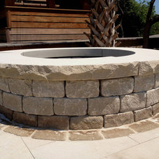 Traditional Firepits by III Oaks Contractors, Inc.