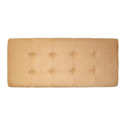 """Skyline Furniture - 790 Series Headboard - 790TPRMWHT - Shop for Headboards and Footboards from Hayneedle.com! Offer comfort and style with the Toma 790 Series Button Tufted Headboard. Thick foam padding and a tufted button style make this headboard a welcome addition to any bedroom setting. Bold edging make this piece stand out. Constructed of pine wood frame with polyurethane foam cushion core with metal legs. Headboard Dimensions Twin: 41L x 4W x 51H inches Full: 56L x 4W x 51H inches Queen: 62L x 4W x 51H inches King: 78L x 4W x 51H inches California king: 74L x 4W x 51H inches This item is the headboard (only) if you like this look in a matching bed frame please view """"Related Items"""" for complete bed set. About Skyline Furniture Manufacturing Inc.Skyline Furniture was founded in 1948 with the goal of producing stylish affordable quality furniture for the home. After more than 50 years this family-run business is still designing and manufacturing unique products that meet the ever-changing demands of the modern home furnishing industry. Located in the south suburbs of Chicago the company produces a wide variety of innovative products for the home including chairs headboards benches and coffee tables."""