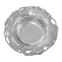 Arthur Court - Bunny 13'' Bowl - Wash by hand with mild dish soap and dry immediately. Product not intended as cookware. Can withstand 350 F. Refrigerator and freezer safe.