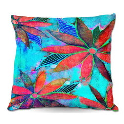DiaNoche Designs - Pillow Woven Poplin from DiaNoche Designs by Robin Mead - Essence - Toss this decorative pillow on any bed, sofa or chair, and add personality to your chic and stylish decor. Lay your head against your new art and relax! Made of woven Poly-Poplin.  Includes a cushy supportive pillow insert, zipped inside. Dye Sublimation printing adheres the ink to the material for long life and durability. Double Sided Print, Machine Washable, Product may vary slightly from image.