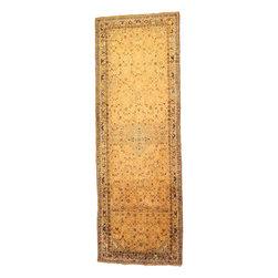 eSaleRugs - 4' 11 x 14' 10 Hossainabad Persian Runner Rug - SKU: 110899151 - Hand Knotted Hossainabad rug. Made of 100% Wool. 40-50 Years(Semi Antique).