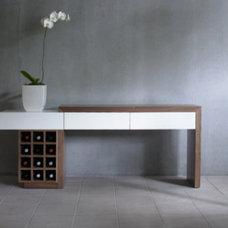 Modern Console Tables by Dayoris Custom Woodwork