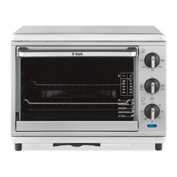 T-Fal - T-Fal OT274E51 Stainless Steel Oven with Rotisserie - Everyone loves products that have multiple uses and this oven with rotisserie by T-Fal has many abilities. The temperature is adjustable up to 450 degrees and it fits a 12-inch pizza.