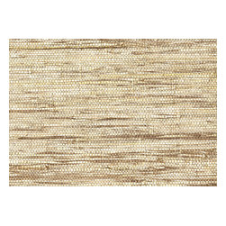 Kenneth James - Shangri La Jiao Taupe Grass Cloth Wallpaper - Nothing beats grasscloth for adding texture, warmth and wow to your walls. This one looks natural in tones of oatmeal and straw — a great backdrop for rooms from traditional to contemporary. Each bolt is 36 inches wide and 24 feet long, covering about 72 square feet.