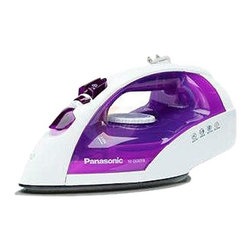 PANASONIC - PANASONIC NIE650TR WHITE ON PURPLE IRON STEAM DRY 12000W AUTO - PANASONIC NIE650TR WHITE ON PURPLE IRON STEAM DRY 12000W AUTO