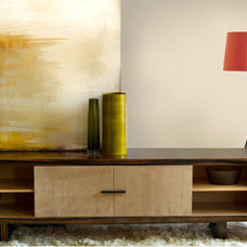 Contemporary Media Storage by Cliff Young Ltd.