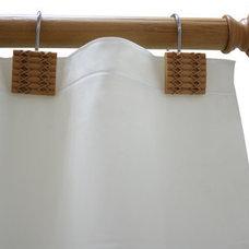 Curtains Bamboo Curtain Rod