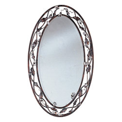 Maxim Lighting - Maxim Lighting 2849OI Elegante Oil Rubbed Bronze Mirror -