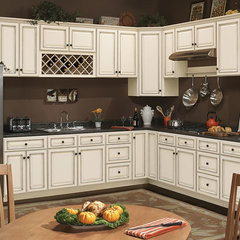 kitchen cabinets Coastal Ivory Kitchen Cabinets