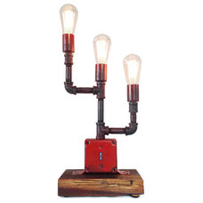 Industrial Table Lamps by Industrial Lightworks