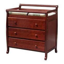 Emily 3-Drawer Changer - K/D Version, Cherry