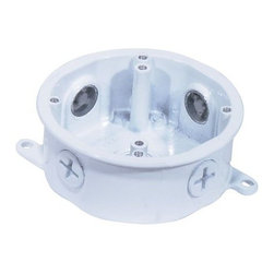 Nuvo Lighting - Nuvo Lighting 76/650 Die Cast Junction Box for Outdoor Lighting in White Finish - Nuvo Lighting 76/650 Die Cast Junction Box for Outdoor Lighting in White FinishNuvo Lighting 76/650 Features: