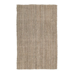 Kaleen - Kaleen Essential Collection 8502-44 4'x6' Natural - Essentials is a collection of classic and all natural Jute hand loomed designs.  Jute has been a  Green  product for eons before the movement became the main stream darling.  Kaleen has captured the true fashion essences of this beautiful product. The Essentials Collection is Hand loomed in India of only the finest 100% hand processed Jute.