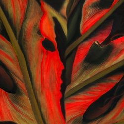 """""""Believers In Red"""" Artwork - Archival pigment print. Signed by the artist. This print is not matted or framed and ships flat."""