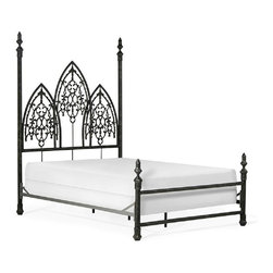 Corsican - Custom Twilight Vampire Bed Iron Bed, Queen - Corsican has been in business over 40 years. Their entire focus is making wrought iron furniture. Many of their skilled craftsman are second generation.
