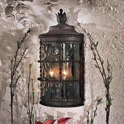 Traditional White Wall Lights : APH14 Spanish Style Wrought Iron Address Plaques Outdoor Lighting: Find Solar Lights and ...