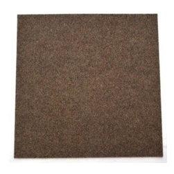 """Dean Flooring Company - DIY Indoor/Outdoor Anti-Slip Carpet Tile Squares - Pebblestone - DIY Indoor/Outdoor Anti-Slip Carpet Tile Squares - Pebblestone : Heavy Duty Commercial Carpet Tile Each tile measures 19.625"""" x 19.625"""" Fantastic price! SHIPPING IS FRRE!!! Continental US only Listing is for 20 tiles (Each box covers 53.5 sf) Multiple lots available Color: Pebblestone. Recyclable Material. Heavy Duty Black Back. This tile has a """"rough walk-off mat feel"""" and is great for entrance ways and indoor/outdoor applications. This is new carpet tile! Great for workshops, garages, pool houses, patios, business entrances, high traffic commercial locations, etc. Cuts down on track-in dirt and water Slip resistant - excellent for slippery entrances"""