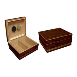 Rich Almond Finish Cigar Humidor