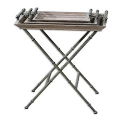 Coyne Folding Tray Table
