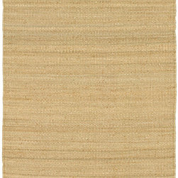 Surya - Surya Jute Natural Jute Natural (Natural) 8' Round Rug - Our Natural Living Collection was tailored to fit the decor of any room. The multiple weavings and textures in each rug create fashionable, yet casual looks. Hand woven in India of natural fibers, the rugs showcased in this collection will complement any space in your home.