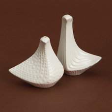 Eclectic Salt And Pepper Shakers And Mills by Jonathan Adler