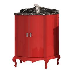 """Macral Venezia 29"""" modern vanity . Red. - Macral Venezia bathroom vanity 29""""."""