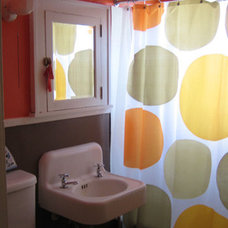 IKEA dot shower curtain