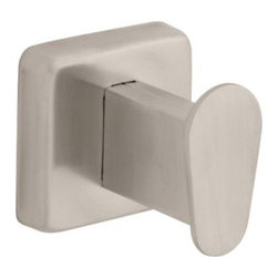 Liberty Hardware - Liberty Hardware 5501SF Century - Franklin Brass 2.06 Inch Hook - Stainless Stee - The sleek lines and minimalist styling of the Century Collection are inspired by contemporary architecture. The geometric elements of its subtle design complements most decors.. Width - 2.06 Inch,Height - 2.06 Inch,Projection - 2.24 Inch,Finish - Stainless Steel,Weight - 0.32 Lbs