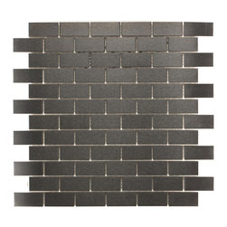 ICL - ICL Urban Metal Mosaic Tiles (Pack of 11) - Brand: ICL Material: Glass Dimensions of tile sheets: 11.81 inches wide x 11.81 inches long