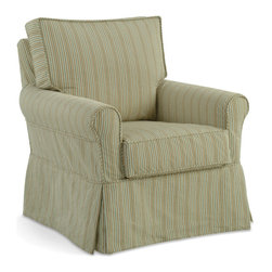Casco Bay Furniture - Camille Accent Chair - Superbly made by skilled craftsman in North Carolina.