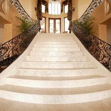 Mediterranean Staircase by Authentic Durango Stone™