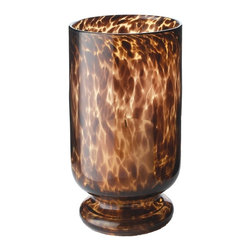 Lazy Susan - Lazy Susan Tortoise Hurricane - Large X-010428 - Made from glass pillar candle suggested