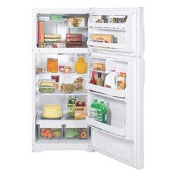 GE - GE Energy-Star 15.5 Cu. Ft. Top Freezer Refrigerator - Features: