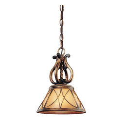 Minka Lavery - Minka Lavery 4751-206 Aston Court Mini Pendant Light In Aston Court Bronze - Manufacturer: Minka Lavery