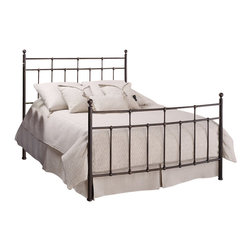 Hillsdale - Hillsdale Providence Metal Panel Bed in Antique Bronze Finish, Queen - Hillsdale - Beds - 380BQR - Providence is a design of tranquil tradition featuring elegant ball finials and dainty castings. Simple and classic in design with just enough detail to entrance observers this beautiful bed is a tasteful welcome to your bedroom.