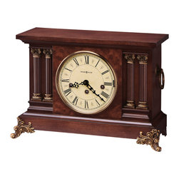 Howard Miller - Howard Miller Antique Style Key Wound Chiming Mantel Clock - CIRCA - 630212 CIRCA