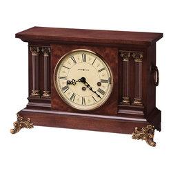 Howard Miller - Howard Miller Antique Style Key Wound Chiming Mantel Clock - CIRCA - 630212 CIRCA