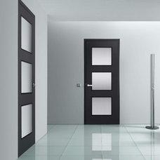 Contemporary Interior Doors by Fenstermann LLC